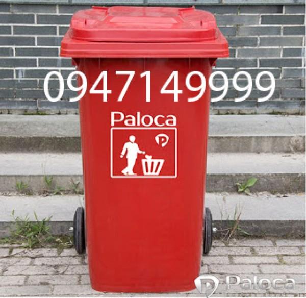 Thùng rác 120l của Công ty CP Poliva có đặc điểm gì nổi trội?