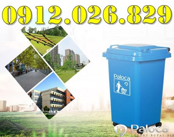 Thùng rác nhựa Paloca - sự lựa chọn đáng tin cậy