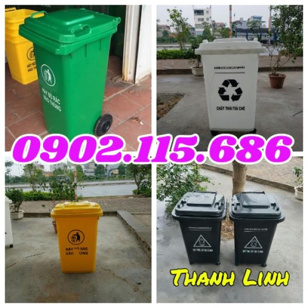 Thùng rác y tế, thùng đựng rác thải y tế, thùng đựng rác 240 lít,