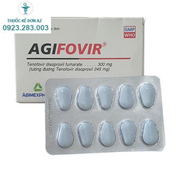 Thuốc Agifovir 300mg chính hãng giá tốt