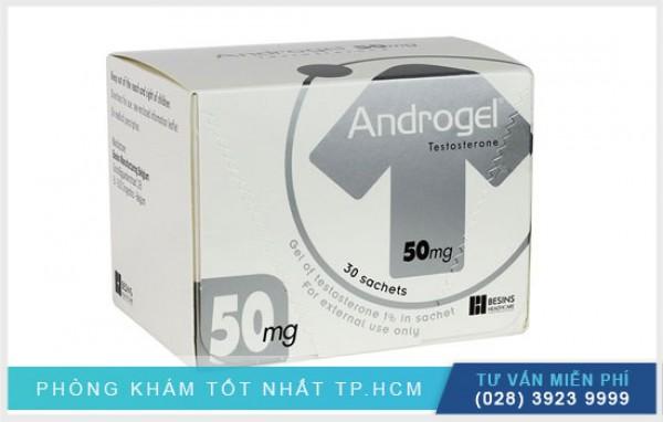 Thuốc Androgel 50mg điều trị suy giảm sinh lý nam hiệu quả