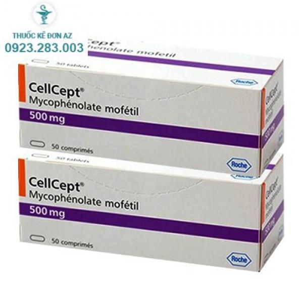 Thuốc CellCept 500mg - thuốc ức chế miễn dịch