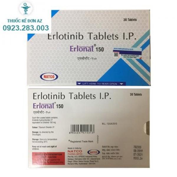 Thuốc Erlonat 150mg - Điều trị ung thư phổi