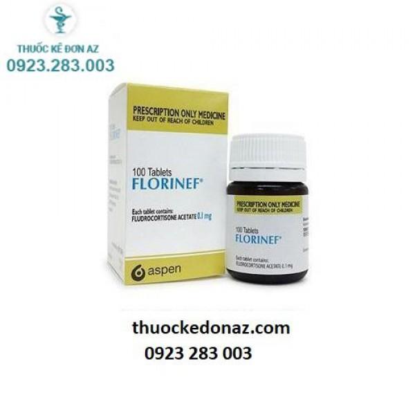 Thuốc Florinef 0.1mg - điều trị suy vỏ thượng thận