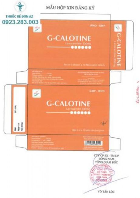 Thuốc G-Calotine –  Giá bao nhiêu, mua ở đâu chính hãng?