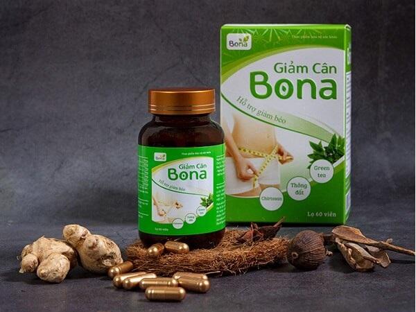 Thuốc giảm mỡ Bona có tốt không phân tích chuyên sâu
