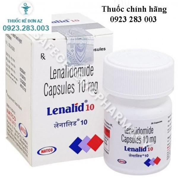 Thuốc Lenalid 10 - bệnh đa u tủy xương