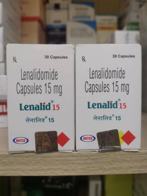 Thuốc Lenalid 15mg – Lenalidomide 15mg-Công dụng, Liều dùng, Giá bán