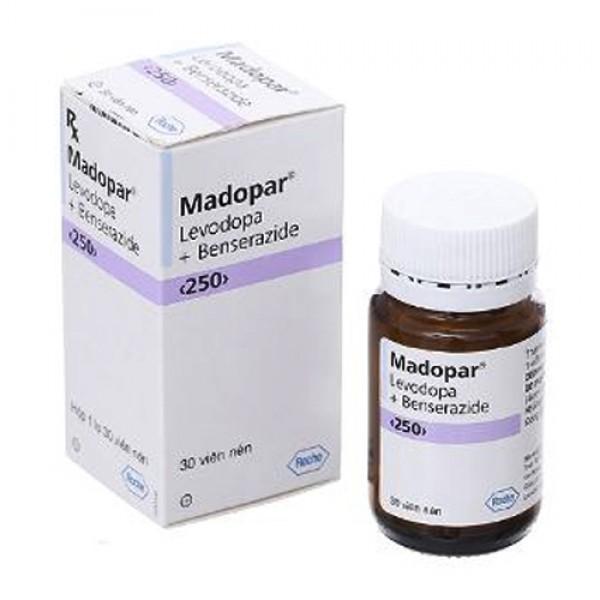 Thuốc Madopar 250mg Parkinson – Công dụng, giá bán, mua ở đâu