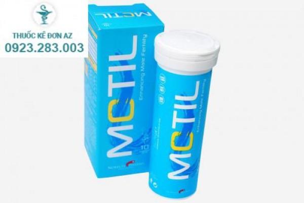 Thuốc Motil sủi – hỗ trợ sức khỏe sinh sản cho nam giới