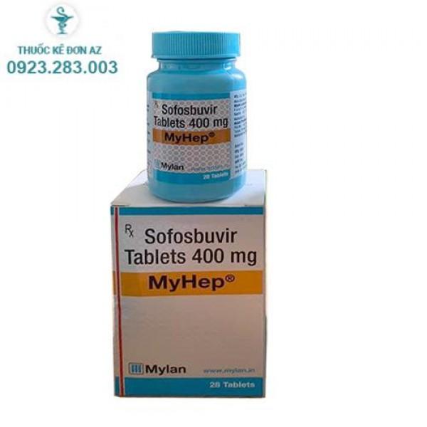 Thuốc Myhep 400mg – Điều trị viêm gan C
