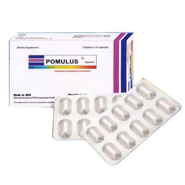 Thuốc Pomulus  250mg – L-Glutathione 250mg – Công dụng, Liều dùng, Giá bán