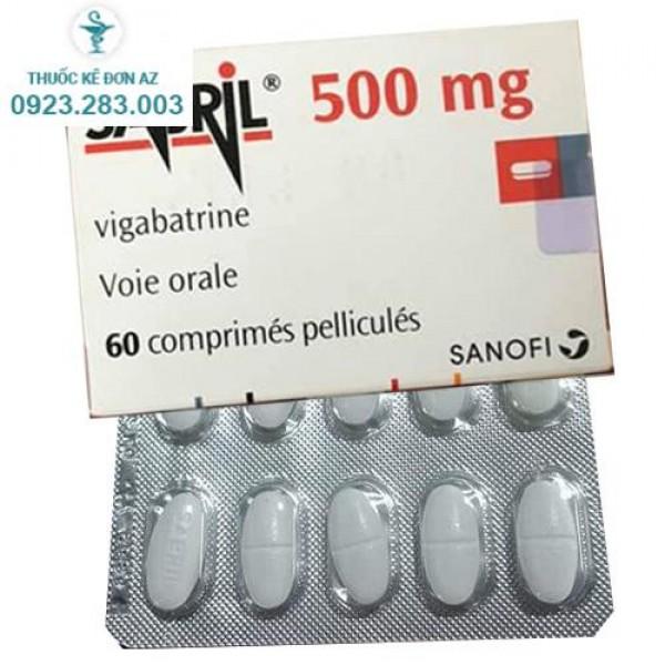 Thuốc Sabril 500mg - Thuốc Chống động kinh