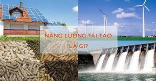 Tiết kiệm, hiệu quả và phát triển năng lượng tái tạo