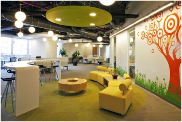 Tiêu chuẩn xây dựng văn phòng có diện tích vừa và nhỏ