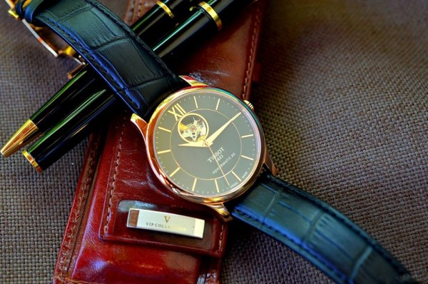Tissot Tradition Powermatic 80 Open Heart Watches Collection