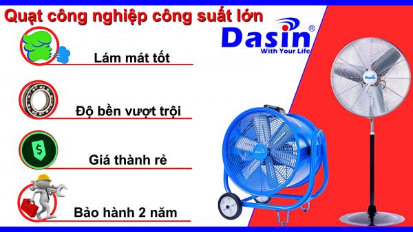 [Tổng hợp] Một số mẫu quạt công nghiệp công suất lớn nhất của Dasin