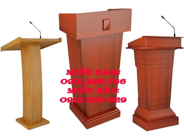 Tổng hợp những điều bạn cần biết khi mua bục phát biểu gỗ công nghiệp