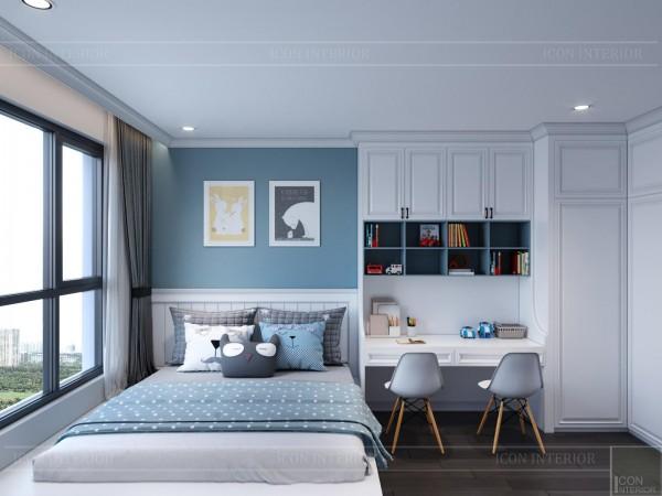 Top 10 thiết kế phòng ngủ màu xanh độc đáo 2021