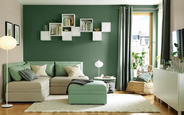 Top 5 màu sơn phòng khách