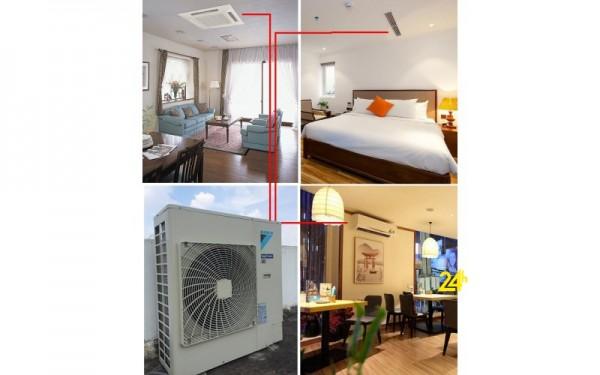 Top sản phẩm máy lạnh multi cho chung cư