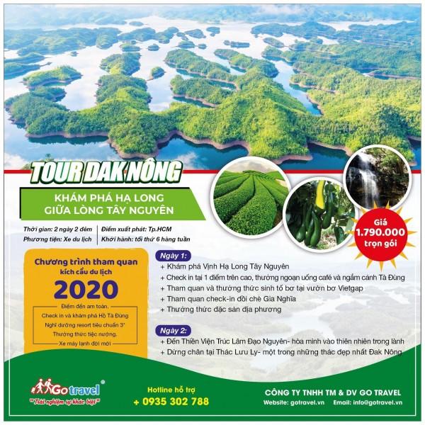 Tour Đak Nông - Hạ Long Giữa Lòng Tây Nguyên