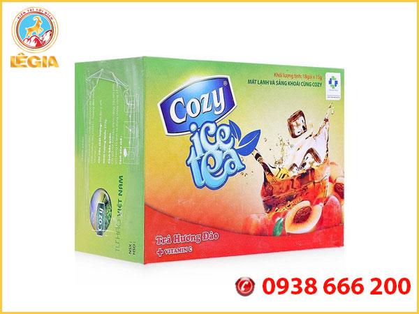 Trà Cozy Hòa Tan Hương Đào Đặc Biệt