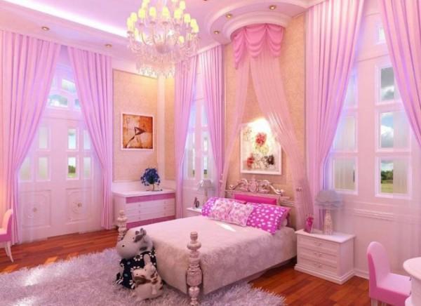 Trang trí căn phòng xinh đẹp và ngọt ngào cho bé gái