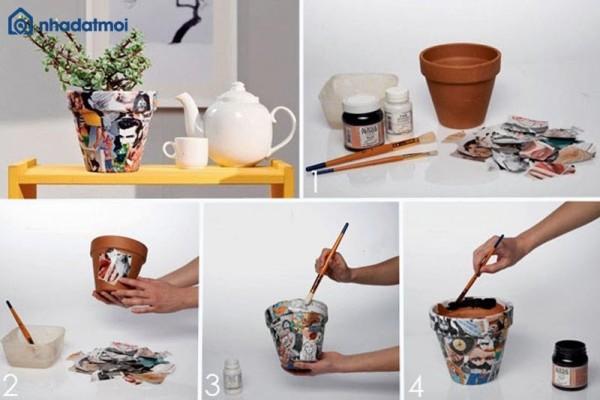 Trang trí nhà bằng chậu cây mini với 9 ý tưởng độc đáo này