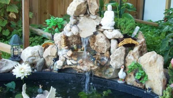 Trang trí nước trong nhà vừa độc đáo vừa hợp phong thủy