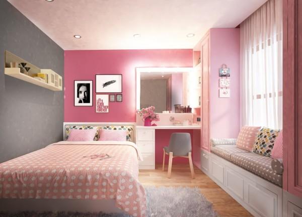 Trang trí phòng ngủ theo phong cách nữ tính