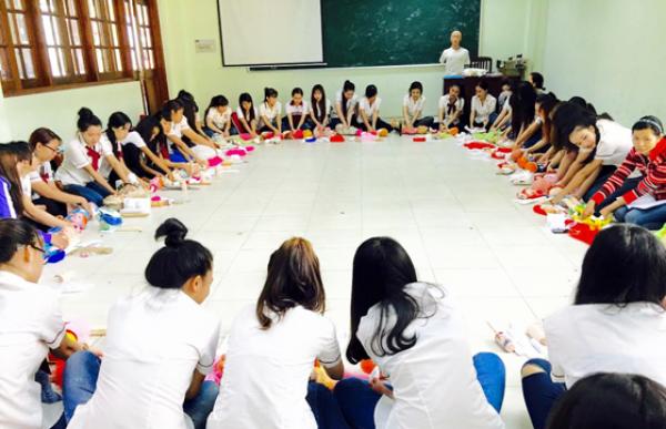 Trung cấp mầm non - Trường Trung Cấp Việt Hàn