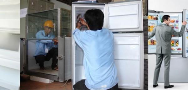 Trung tâm sửa chữa lắp đặt tủ lạnh đá rơi tại Hải Phòng