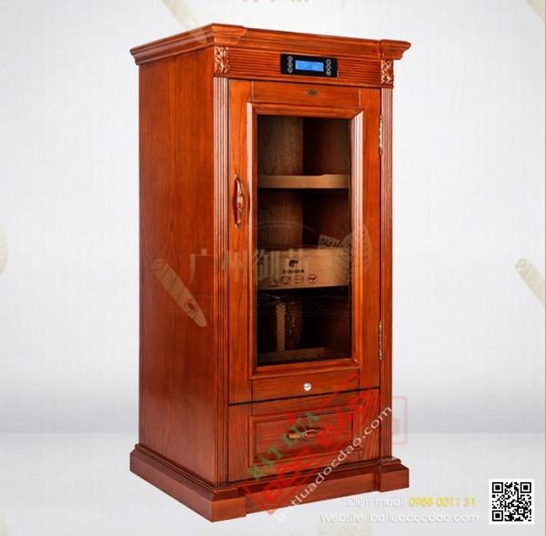 Tủ bảo quản giữ ẩm xì gà cắm điện tự động Cohiba ch14, giá tốt