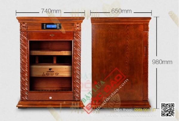 Tủ bảo quản giữ ẩm xì gà Cohiba 150 đến 200 điếu cắm điện