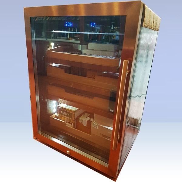 Tủ bảo quản xì gà cắm điện cao cấp tặng sếp Lubinski RA999