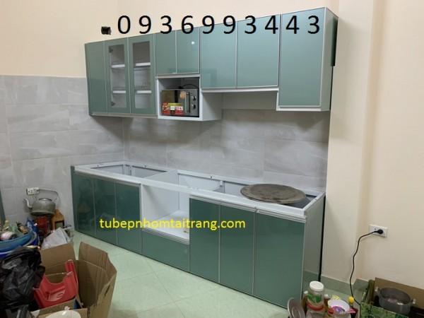 Tủ bếp nhôm nhiều ưu điểm nhưng cũng có các nhược điểm cần được khắc phục
