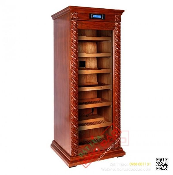 Tủ điện bảo quản giữ ẩm xì gà Cohiba ch18, quà biếu sếp nam
