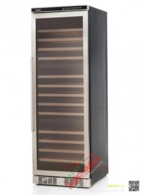Tủ lạnh bảo quản rượu vang 143 chai Kadeka, giá tốt