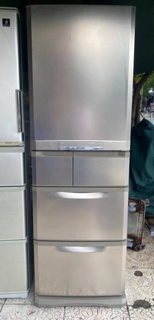 Tủ lạnh MITSUBISHI MR-B42S-N 420L Date 2011, làm lạnh nhanh gas R600A