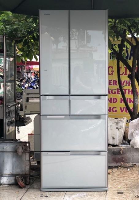 Tủ lạnh nội địa HITACHI R-G4800D 475L date 2013