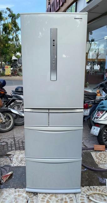 Tủ lạnh Panasonic NR-E435T 426 lít 5 cửa đời 2011 Có mắt thần cảm biến Econavy