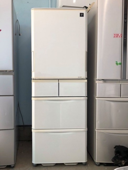 Tủ lạnh Sharp 5 cánh cửa mở 2 chiều (date 2013, mới về)
