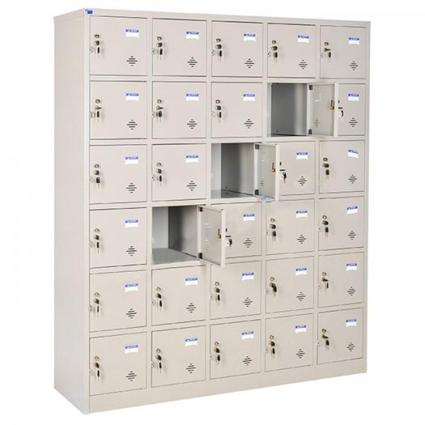 Tủ Locker sắt 30 ngăn TU986-5K