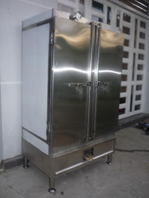 Tủ nấu cơm 10 khay gas điện công nghiệp