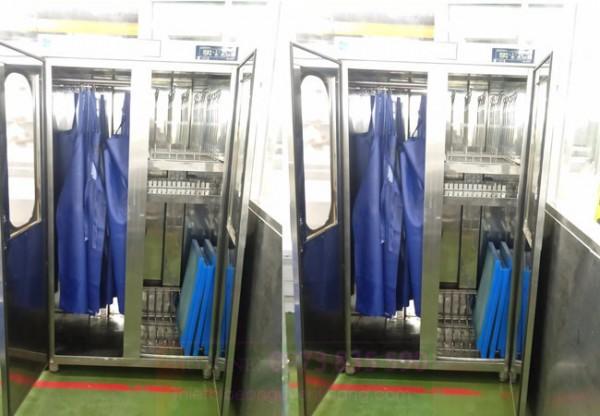 Tủ sấy tạp dề, tiệt trùng và sấy khô quần áo công nghiệp