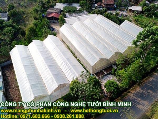 Tự tạo cơ hội trồng rau trong nhà lưới, nhà lưới trồng dưa lưới, nhà lưới nhà kính, nhà lưới giá rẻ