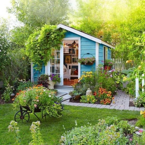 Tự tay trang trí khu vườn thật ấn tượng
