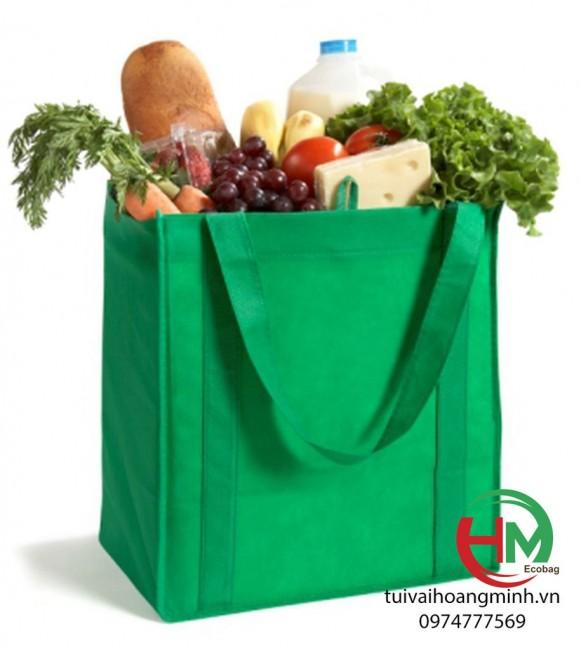 Túi vải đi chợ đựng thực phẩm tiện lợi, giá rẻ