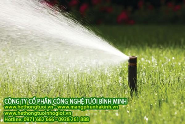 Tưới tự động đơn giản, thiết bị tưới vườn,vòi tưới sân vườn,vòi tưới sân cỏ, vòi tưới sân vận động